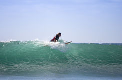 Sea surfing Royalty Free Stock Image