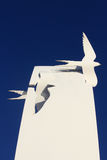 Sea Swallow Sculpture at Cleveleys, Lancashire Stock Image