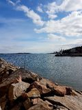 By the sea. Swedish Archipelago View Royalty Free Stock Photography