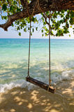 Sea swing Stock Photography