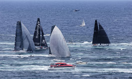 Sea Syd Hobart Hor 4 leaders Stock Photos
