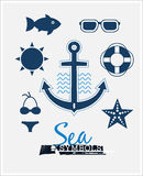 Sea Symbols Royalty Free Stock Image
