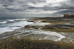 Sea in tajao Royalty Free Stock Photo