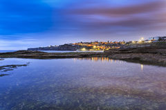 Free Sea Tamarama 2-3 Town Rise Stock Images - 58317374