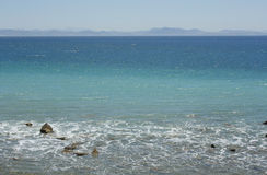 Sea in tarifa, cadiz, Cádiz Stock Image