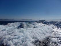 The sea in Tarifa, Costa de la Luz stock photos