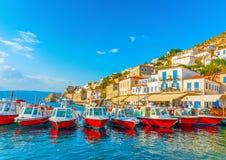 Sea Taxi boats Stock Photography