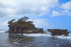 The sea temple Pura Tanah Lot Royalty Free Stock Image