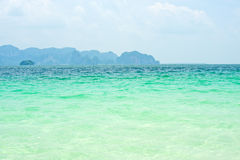 Sea in Thailand Royalty Free Stock Image