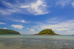 Sea in Thailand. Beach and tropical sea in Thailand Royalty Free Stock Photography