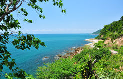 Sea in Thailand. Sea is important tourist attraction in Thailand , Asia royalty free stock photos