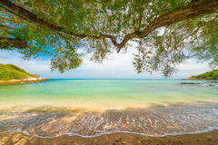 Sea in thailand. Kho samed island in thailand Royalty Free Stock Image