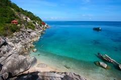 Sea in Thailand. Ko Tao island Stock Photo