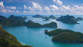Sea Thailand, Mu Ko Ang Thong island National Park stock video footage