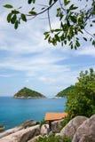 Sea Thailand. Nang Yuan island, Koh Tao, Thailand Royalty Free Stock Images
