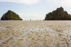 Sea of thailand. One of the attractions of a novelty and pleasure Royalty Free Stock Photos
