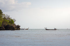 Sea of thailand. One of the attractions of a novelty and pleasure Stock Image