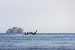 Sea of thailand. One of the attractions of a novelty and pleasure Royalty Free Stock Images
