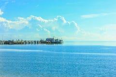 The sea of thailand. Petburi provide is coast of Thailand Stock Image