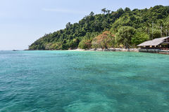 Sea in Thailand. This is a photo of sea in Thailand Royalty Free Stock Image