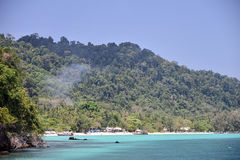 Sea in Thailand. This is a photo of sea in Thailand Royalty Free Stock Photography