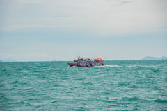 Sea Thailand. Samui, Thailand, in September 2016 the ship traveled to Koh Samui, Thailand Royalty Free Stock Image