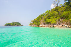 Sea in Thailand Royalty Free Stock Photos