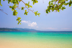 Sea in Thailand Stock Image