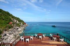 Sea Thailand. View at Koh Tao island , Thailand Royalty Free Stock Image