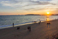 Sea of thailandKrabi Province Stock Images