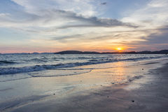 Sea of thailandKrabi Province. Explore the wonders of Thailandn Royalty Free Stock Photography