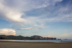 Sea of thailandKrabi Province Stock Photography