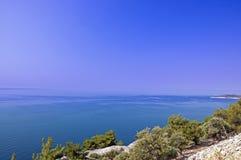 Sea on Thasos Island Royalty Free Stock Photography