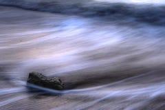 Sea tide longexposure Stock Images