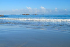 Sea tide waves Stock Images