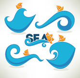 Sea time Stock Images