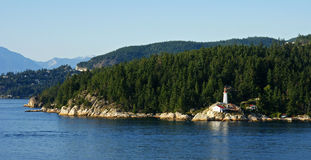 Sea to Sky Highway Royalty Free Stock Photos