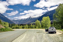 Sea to Sky Highway Brinish Columbia Stock Photo