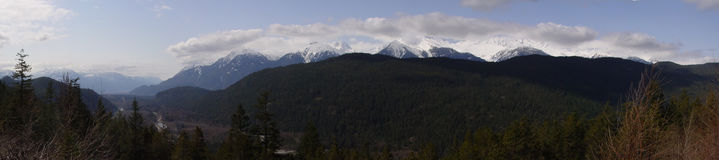 Sea-to-Sky Highway Lookout Stock Photo