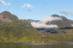 Sea to Sky Highway View Stock Images