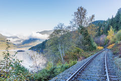 Sea to Sky Highway View Stock Photography
