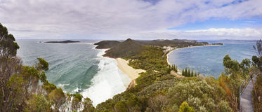 Sea Tomaree Top Beach Stock Images