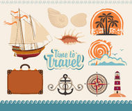 Sea and tourism Royalty Free Stock Images