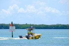Sea Tow Boat Towing Service captain on call Royalty Free Stock Photography