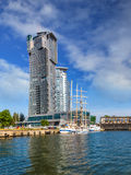 Sea Towers in Gdynia, Poland. Royalty Free Stock Photos