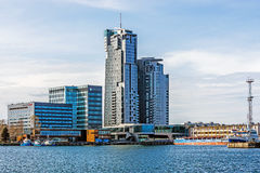 The Sea Towers Royalty Free Stock Photo
