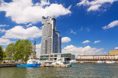 Sea Towers skyscraper in Gdynia, Poland Stock Photography