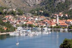 Sea Town Of Skradin Stock Photo