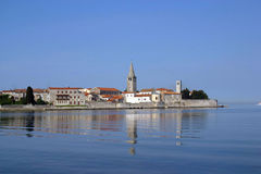 Sea town of Porec Stock Photos