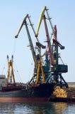 Sea trade port Stock Photography